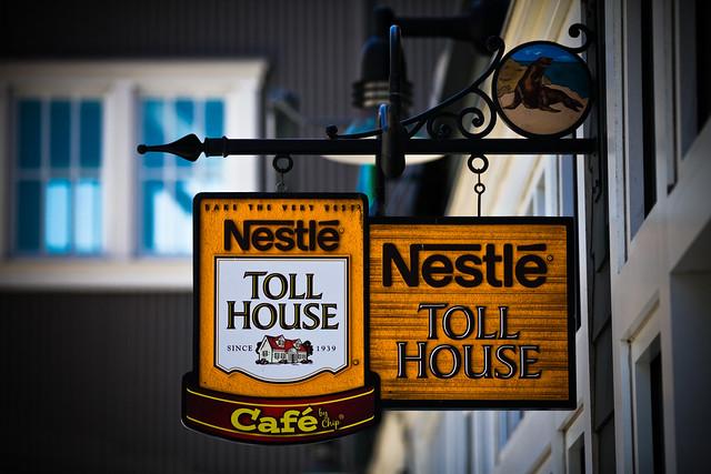 ネスレのカフェ