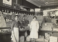 1930s greengrocer