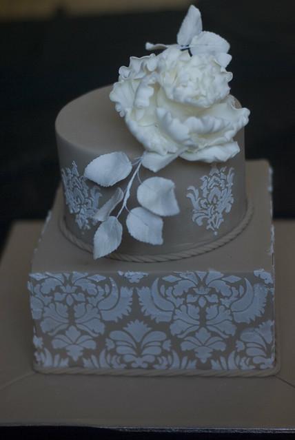 Stencilling A Cake