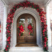 Frontdoor Christmas Styling