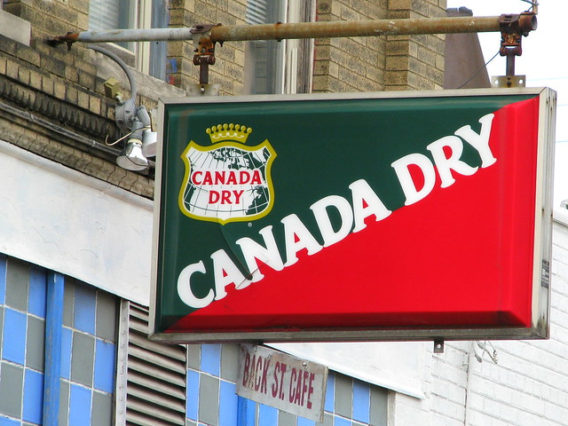 Canada Dry sign, Roanoke, VA