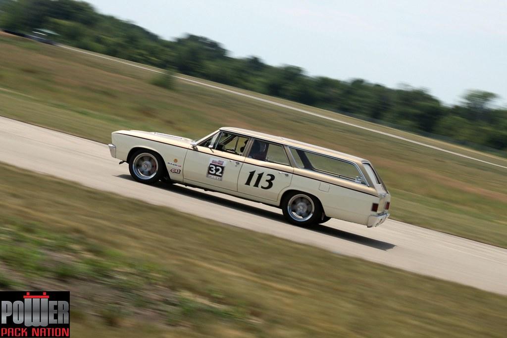 1967 Chevy Malibu Wagon - Autobahn Straightaway