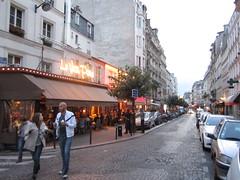 Paris street, Rue Abbesses