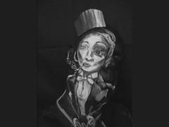 Marlene Dietrich. James Kuhn. Face Paint in Motion.