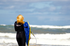 Surfer girl (1 of 2). By Thomas Tolkien