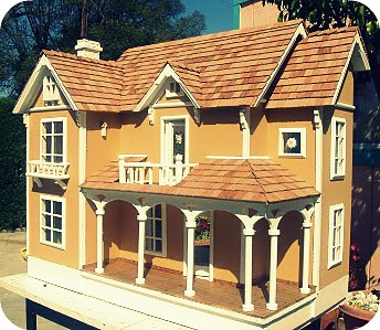 American Neoclassical by Poppies Woodshop Designs