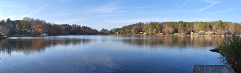 panorama lake reflection water georgia cherokee mountainpark cherful