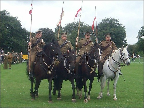 """ Horse Mounted Troops """