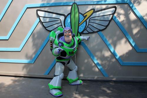 Meeting Buzz Lightyear