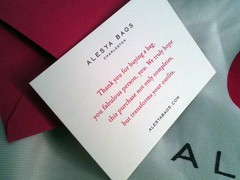 Unboxing my Alesya Bag - 4