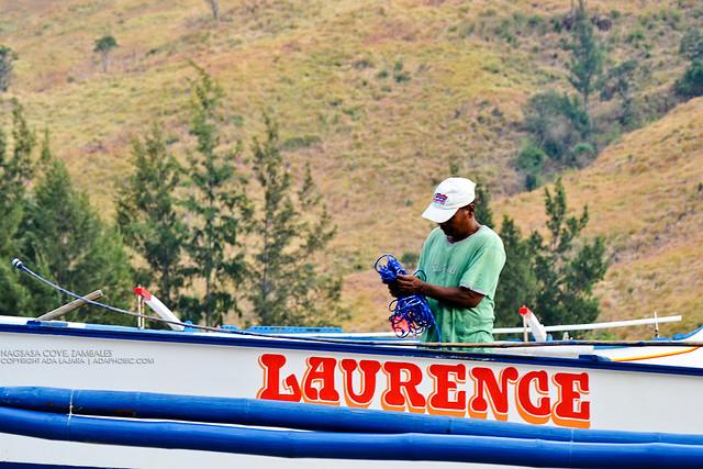 Nagsasa Cove - Fisherman