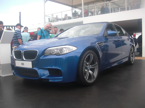 New 2011 2012 BMW M5 Blue Goodwood Festival
