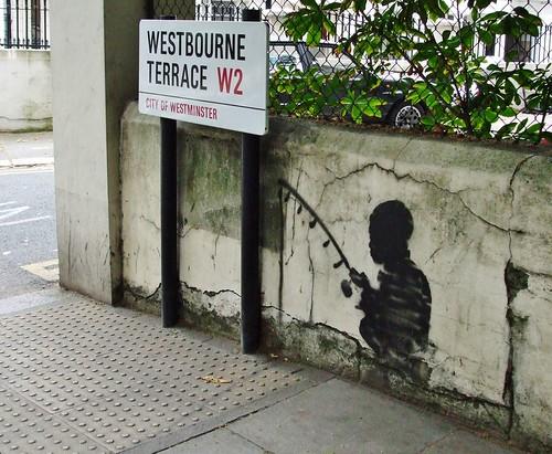 c) Banksy