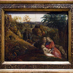 "Samuel Palmer ""Rest on the flight into Egypt""Ashmolean Museum, Oxford"