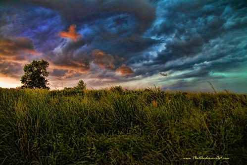 Prairie Grass in Storm @ Smithville MO