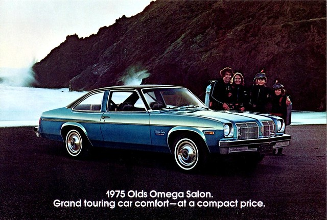 1975 oldsmobile omega salon flickr photo sharing