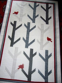 White Birches Quilt