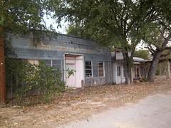 Abandoned Buildings, Clairette, Texas