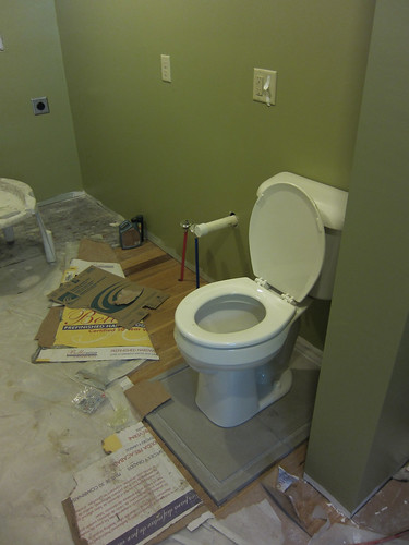 the new bathroom!