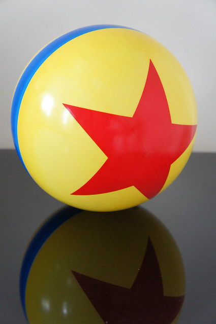 Toy Story Ball : Luxo s ball from pixar explore al toy barn photos