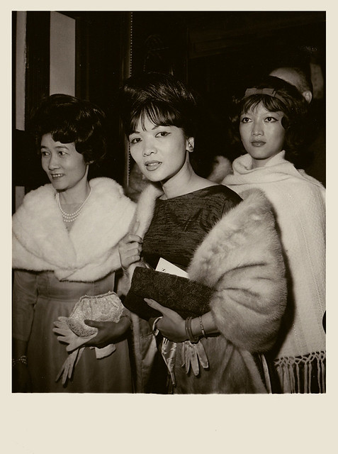Mrs. Nhu President Diem's sister-in-law in Paris, 2nd October 1963