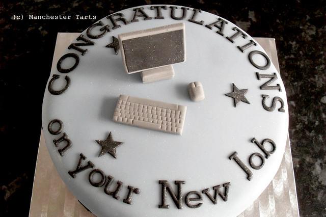 Cake Decorating Ideas For New Job : Celebration cake: New Job Flickr - Photo Sharing!