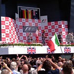 2011 British Grand Prix: Silverstone - Podium (3)