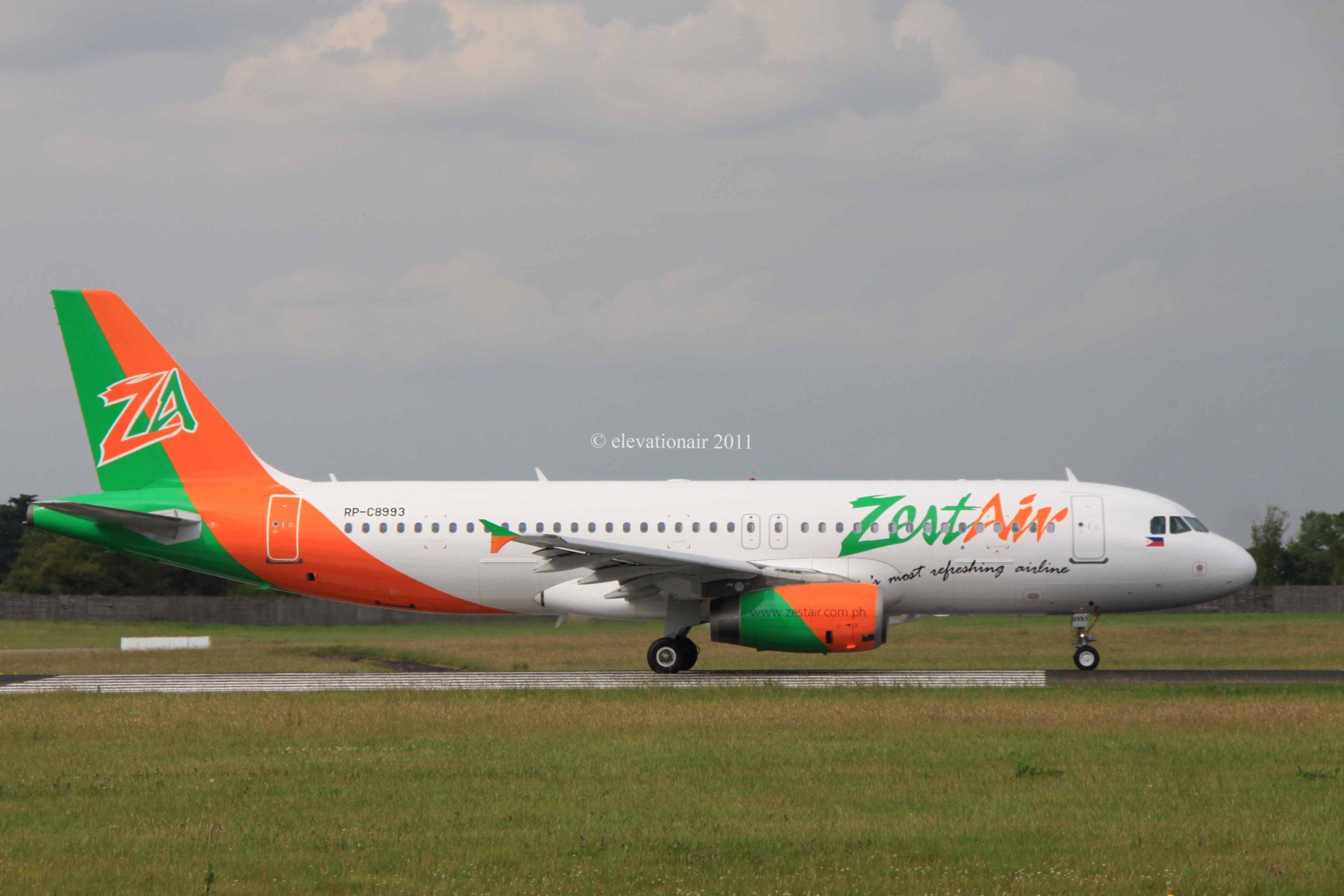 RP-C8993 Zest Airways Airbus A320-232