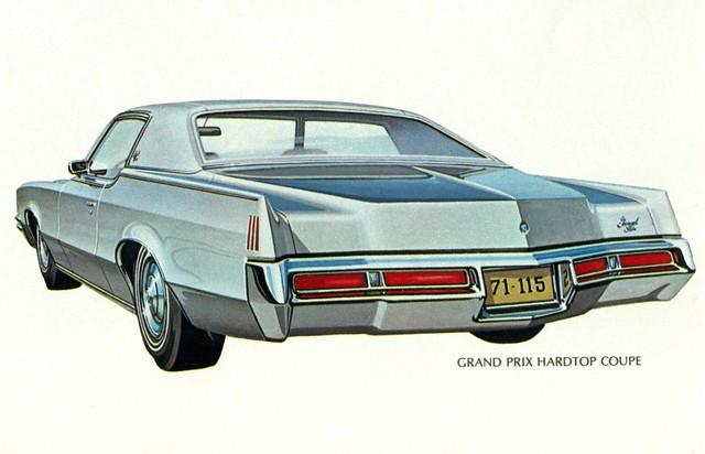 1971 Pontiac Grand Prix Hardtop Coupe - a photo on Flickriver