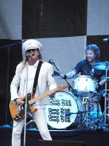 Cheap Trick at Ottawa Bluesfest 2011