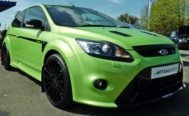 ford focus rs mk2 ultimate green visual tuning a. Black Bedroom Furniture Sets. Home Design Ideas