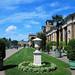 Potsdam Schlosspark Sanssouci; Triumphstrasse am Orangerieschloss 1858 by Wolfsraum