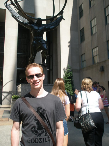 Phil at Rockefeller Center