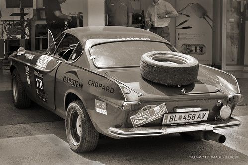 Volvo P 1800 S 1966 © Copyright by :: ru-moto B. Egger classic sports cars 1470 bw