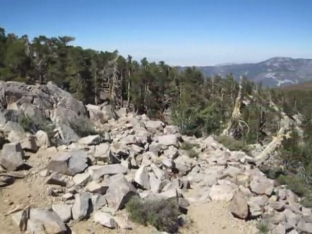 398 East San Bernardino Peak panorama video