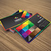 Fantasy corporate business card by lemongraphic