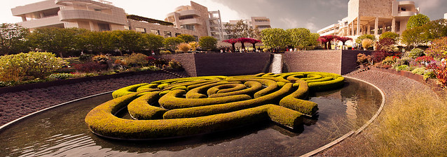 Panorama - Getty Museum