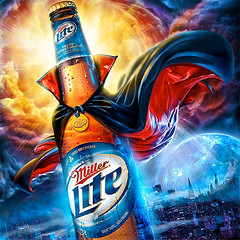 Miller Light... Halloween ...Kyle Lane design/Illustration