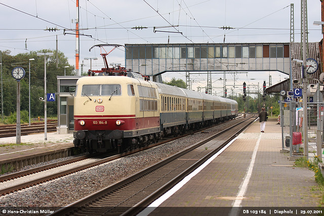 DB 103 184 in Diepholz #5450