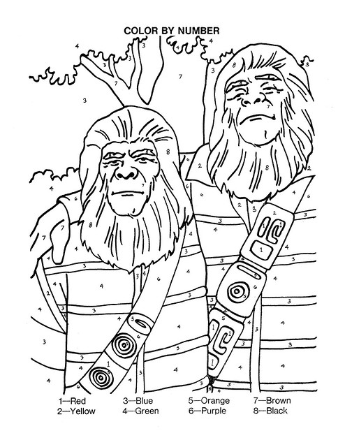 Planet of the Apes Activity Book 0100006