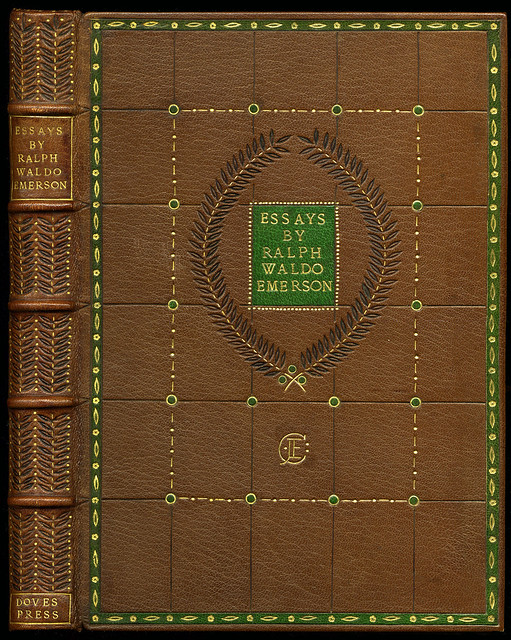 Ralph Waldo Emerson Essays Book