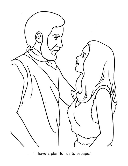 Planet of the Apes Coloring Book 0200041