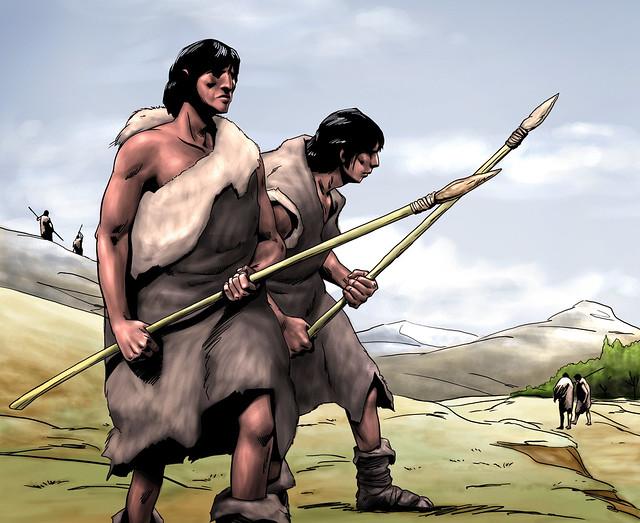 los antiguos pobladores de america:
