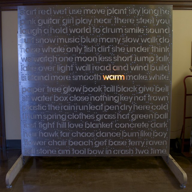 Word Wall - Testing LED Strips