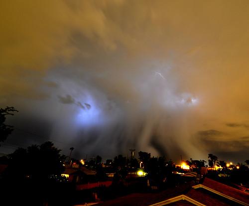 summer arizona storm rain august az monsoon scottsdale lightning thunder cloudsstormssunsetssunrises