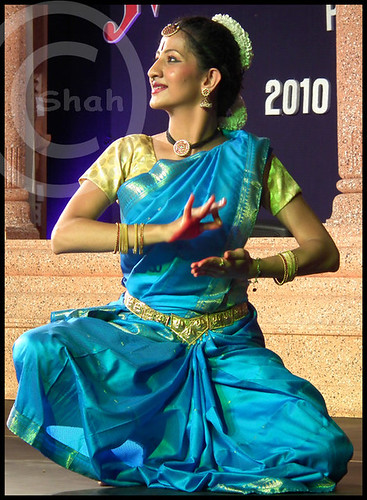 A posture from Bharatnatyam....