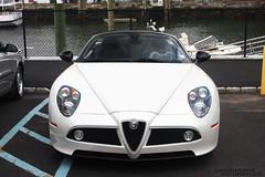 alfa romeo mito(0.0), alfa romeo giulietta(0.0), automobile(1.0), alfa romeo(1.0), wheel(1.0), vehicle(1.0), automotive design(1.0), alfa romeo 8c(1.0), alfa romeo 8c competizione(1.0), land vehicle(1.0), luxury vehicle(1.0), sports car(1.0),
