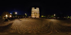 Reims Cathedral, by Night