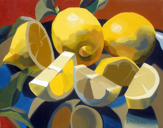 """Lemon and Leaves""  sold"