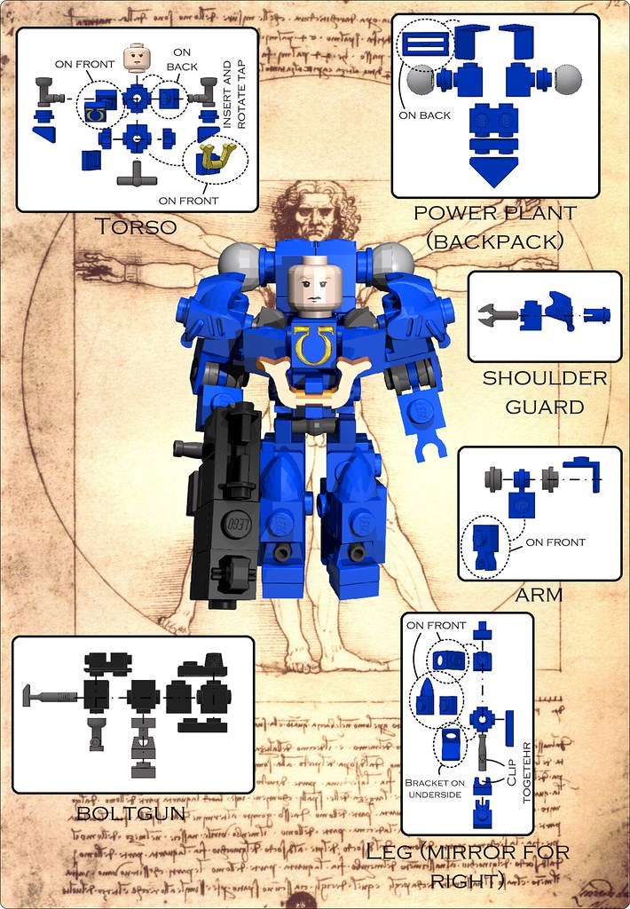 Space marine instructions a photo on flickriver for Virtual suit builder